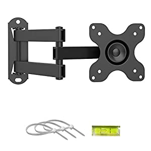 """Die TV & Monitor Wandhalterung ist geeignet für 13 - 30 Zoll LED/LCD TV und Monitor, kompatibel: 75x75mm (3""""x3"""") or 100x100mm (4""""x4""""); Max. Belastung: 15 KG (Vergewissern Sie sich, dass die TV Halterung kompatibel mit der Größe und dem Gewicht Ihres ..."""