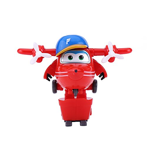 Robotvliegtuig, Super Wings Mini Transforming Robot Airplane Animation Action Figure Plane Toy for Kids Children