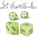 YBDXMM 4 Pcs Sex Dices Game Game Tool Toys Dice Novelty Gift for Sex Dices Game Couple Dice Games