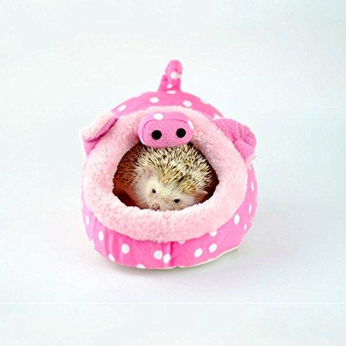 Winterworm - Cama para Mascotas con Almohadilla extraíble para hámster, Erizo, cobaya, bebé y Gato