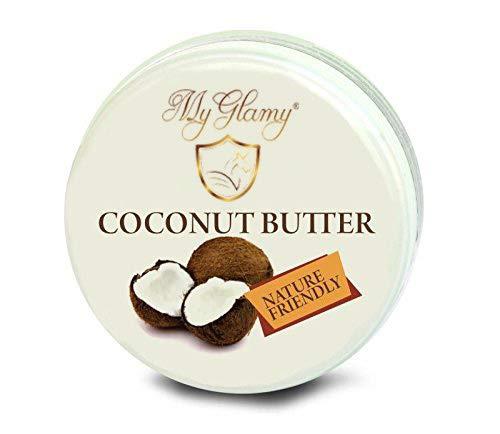 -524- Kokosnuss-Butter ohne Duft 100% Natur-Creme Cocos Coconut-BODY-Butter natürliches Gleitmittel natürliche Intimpflege & Intimbefeuchtung - 250 ml reines Kokos-Öl ohne Zusätze