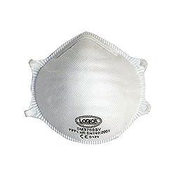 Logik–10PZ Einweg Mundschutz faltbar FFP1NR Schutz Staub Rauch