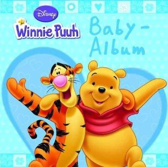 Disney: Baby-Album Winnie Puuh blau: wattiert