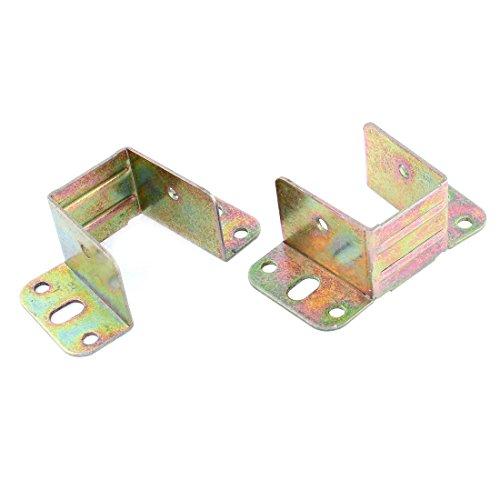 X-Dr Bett Metall U Winkelhalterung Bronze Ton 80mm x 42mm x 30mm 2Stk (6db538414f72cc9b0d2091cb378679d7)