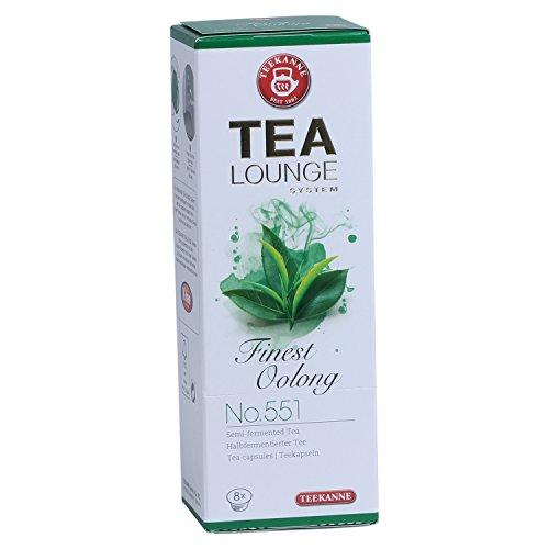 Teekanne Tealounge Kapseln - Finest Oolong No. 551 Grüner Tee (8 Kapseln)