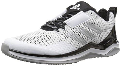 adidasBY3187 - Speed Trainer 3 Unisex-Kinder , Weiá (White/Metallic Silver/Black), 32 EU Medium Großes kind