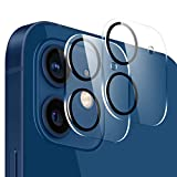 VASIVO Camera Lens Protector Compatible with iphone 12 mini, HD Clear Tempered Glass Camera Lens Protector, 9H Hardness Ultra Thin Tempered Glass Film(2 Packs)