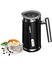 YISSVIC Espumadoras de Leche Automáticas Espumador de Leche Frío y Caliente para Café Latte Cappuccino 130ml/ 300ml