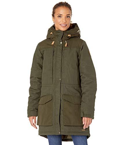 Fjallraven Damen Singi Wool Padded Parka W Sport Jacket, Deep Forest, XL