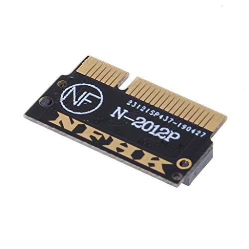 Ontracker - Tarjeta adaptadora SSD M.2 NGFF SATA para MacBook Pro 15' A1398 2012 principios de 2013