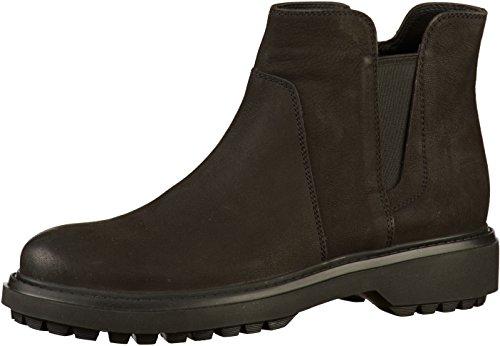 Geox Damen D ASHEELY E Chelsea Boots, Schwarz (Black C9999), 38 EU