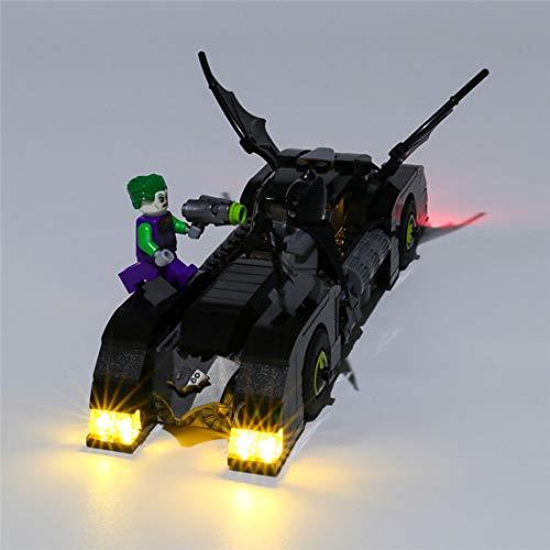 HYZM Kit de Luces para Lego Batmobile: La Persecución del Joker Modelo, Kit de Iluminación Led Light Kit Compatible con Lego 76119 ( Juego de Legos no Incluido )