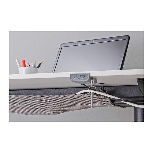 Ikea Bekant - Mesa de Escritorio, Color Blanco y Negro: Amazon.es ...
