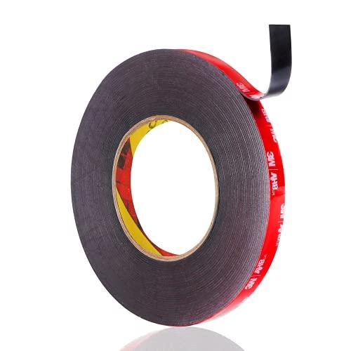 LAPANDA 3M Double Sided Tape, Waterproof Heavy Duty Foam Tape, 36FT Length, 0.4 Inch Width for Car, Home Decor, Office Decor