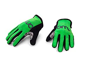 WOOM BIKES USA Kinder Handschuhe (Alter 2–5), Größe 5, Unisex, grün