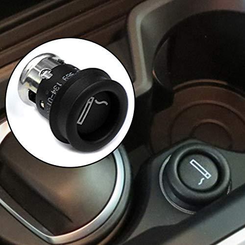 Auto Feuerzeug Auto-Zigarettenanzünder-Sitz for BMW E90 E91 E66 Z3 X3B E63 E38 N52 750I E36 E83 E31 E39 840Ci X1 X5 X6 Series USB Elektronische Stecker (Color Name : Black)