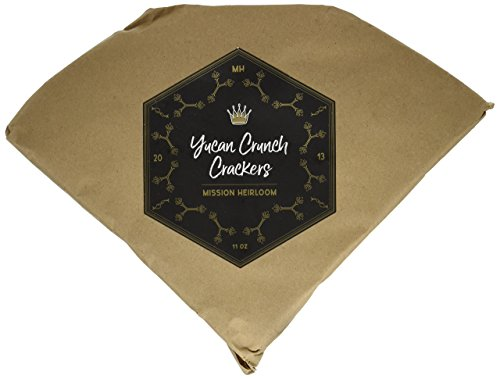 Yucan Crunch Crackers - 2-Pack - Vegan, Paleo, Naturally Gluten-Free, Autoimmune AIP, Non-GMO, Organically-Grown, Resistant Starch, Complex Carb, Low Glycemic, 100% Yuca(Cassava) Root Fiber