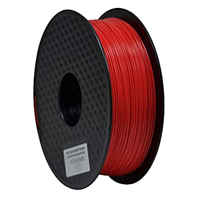 GEEETECH PLA Filament 1.75mm 1Kg spool for 3D Printer,Vacuum Packaging,Red