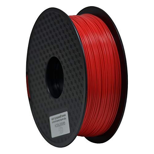 GEEETECH Filamento PLA 1.75mm para impresión 3D, 1kg Spool, Rojo