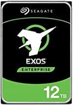 Seagate Exos 12TB Internal Hard Drive Enterprise HDD – 3.5 Inch 6Gb/s 128MB Cache for Enterprise, Data Center – Frustration Free Packaging (ST12000NM0007)