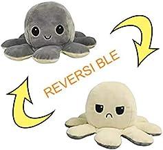 Desconocido Omkeerbare octopus, pluche dier, omkeerbaar, mini, klein, groot, dubbelzijdig, octopus, omkeerbaar, voordelig,...