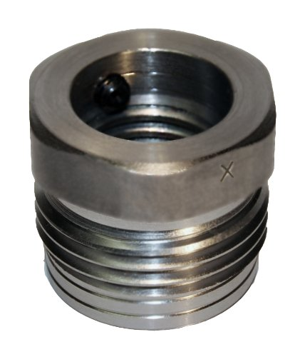 Nova IXNS 1' x 8tpi Insert WITH SETSCREW for Nova Chucks used on reversing lathes (Fits Insert type chucks ONLY).