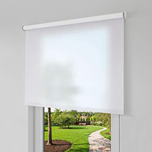 Erfal Smartcontrol Rollo by Homematic IP, 60 x 160 cm (B x H), halbtransparent tageslicht weiß