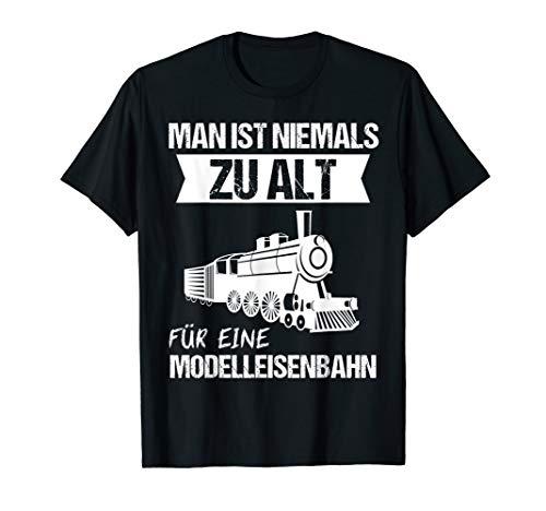 Herren Dampflok Lokomotiven Eisenbahn Dampflokomotive Geschenk T-Shirt