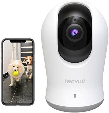 2K 3MP Indoor Camera Dog Camera with 360 8X PTZ WiFi Camera Indoor with H 265 Coding Technical product image