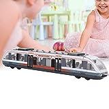 ZJchao Simulazione Treno ad Alta velocità in Lega Leggera Modello di Treno automobilistico, Giocattoli educativi per Bambini, Regalo di Compleanno per Bambini (Bianco)