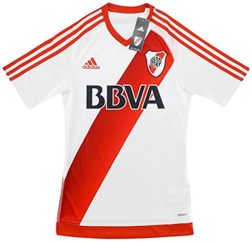 2016-17 River Plate Adizero Player Issue - Camiseta para casa, blanco, small