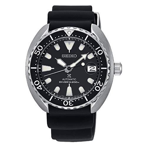 """SEIKO PROSPEX""""Mini Turtle"""" Automatic Diver's 200M Black SRPC37K1"""