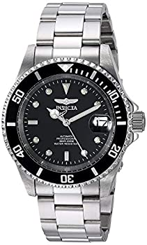 Invicta Pro Diver Unisex Wrist Watch Stainless Steel Automatic Black Dial - 8926OB