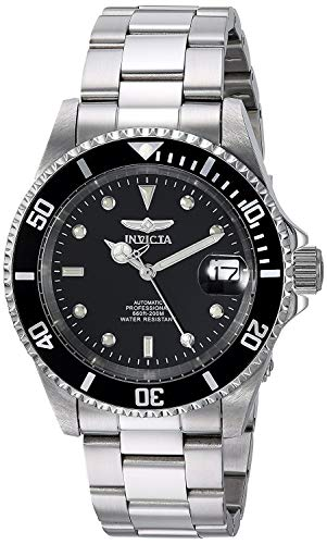 Invicta Men's Pro Diver 40mm Stainless Steel Automatic Watch, Silver...