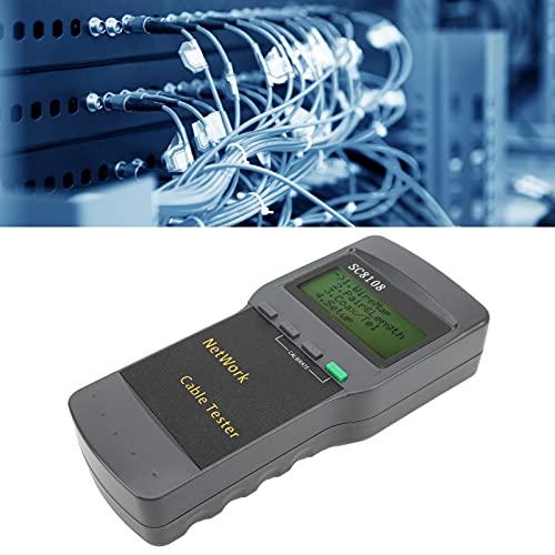 01 Trazador de Cables de Internet, comprobador de Cables de Internet Comprobador de Cables de Longitud de Cables pequeños y portátiles para cableado Integrado en oficinas de telecomunicaciones