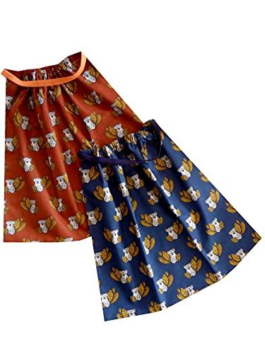Sackcloth Sally Lot de 2 Serviettes de Table Enfant élastiquées