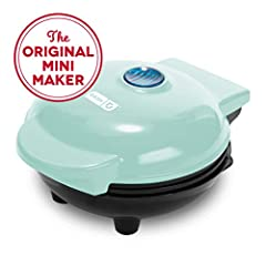 """MORE THAN WAFFLES: Make paninis, hash browns, and even biscuit pizzas! Any wet batter will """"waffle"""" your treats and snacks into single serving portions. Great for kids or on the go! COMPACT + LIGHTWEIGHT: Weighing 1lb+, this is a MUST-HAVE for that f..."""