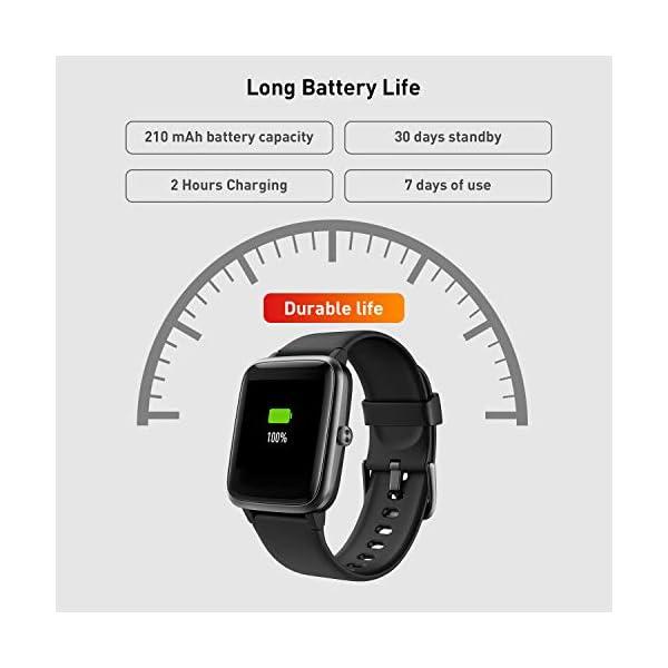 Reloj Inteligente Mujer,Smartwatch Hombre Impermeable IP68 Pulsera Actividad 1.3 Pulgada con Monitor de Ritmo cardíaco… 7