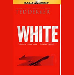 White     Book Three, The Great Pursuit              By:                                                                                                                                 Ted Dekker                               Narrated by:                                                                                                                                 Rob Lamont                      Length: 11 hrs and 39 mins     1,161 ratings     Overall 4.5