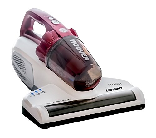 Hoover UltraMATT Handheld UV Mattress Vacuum Cleaner, MBC500UV, Bagless, Powerful, Bed, Hygiene, Allergy, Corded, 500 Watt