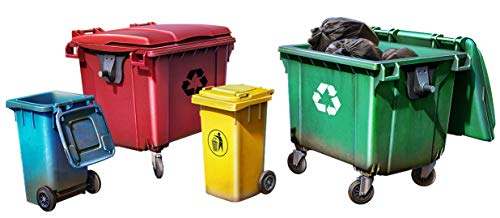 ミニアート 1/35 プラスチック製ゴミ箱セット 4個入 プラモデル MA35617