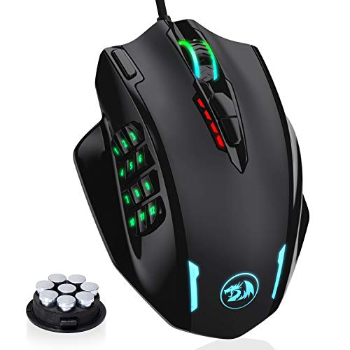Redragon M908 Impact RGB LED MMO Mouse...