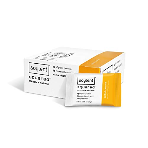 Soylent Squared 30-pack, 100 Calorie Protein bar, Salted Caramel
