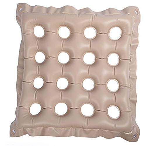DMYY Anti-Decubitus Medical Air Mattress Wheelchair Cushion, Decompression Breathable Elderly Patients Anti-Pressure Sore Hip Inflatable Pad Home Care Products Foldable And Easy To Carry