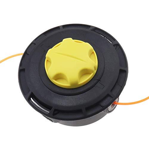 Cabezal de bobina de rosca, cabezal cortador de hilo compatible con Toro Ryobi Stihl Echo Homelite Makita 308923013 120950010- M10
