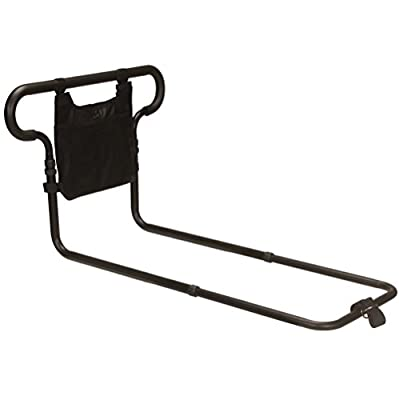 Looped Safety Bed Rail Mobility aid Adjustable with Useful Storage Pocket ECBR02