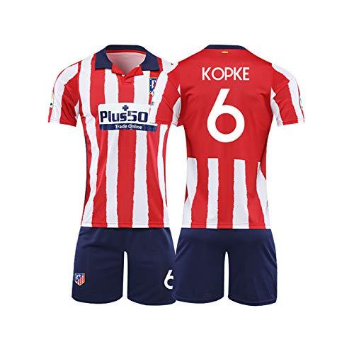 LIUJING Suarez Atletico Madrid Trikot Nr 9 Fußballkleidung passen männliche Sporttraining Jersey - Größe (Größe -2XL) 3-110