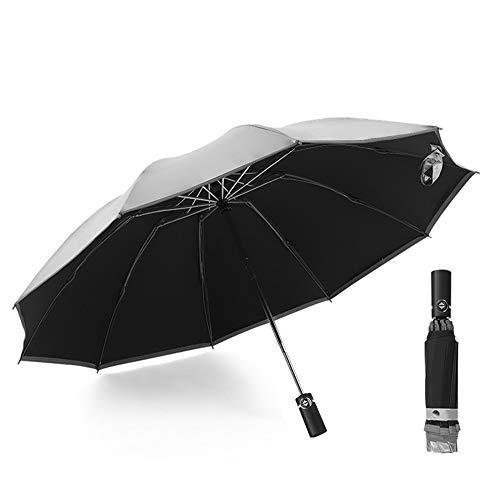 Sombrilla automática paraguas de negocios paraguas diez hue