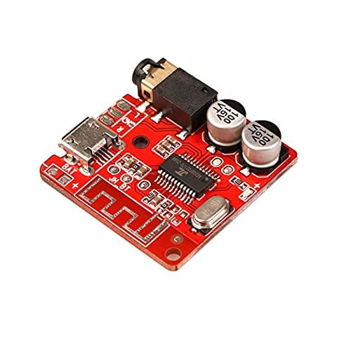 ZRYYD Receptor de Audio Compatible con Bluetooth 5.0 Placa de 3.7-5V MP3 Tablero de decodificador sin pérdida Bricolaje Módulo de Altavoz de Coche de música estéreo inalámbrico