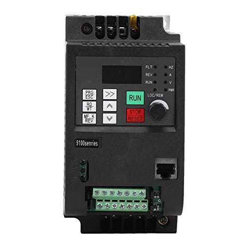 Inversor de Bomba de Agua Solar Nflixin 750W-2200W, DC200-400V A 3 Fases 0-220Vac Pwm Control Vectorial de Voltaje, Convertidor de Frecuencia Pv Para Ingeniero(1.5Kw)